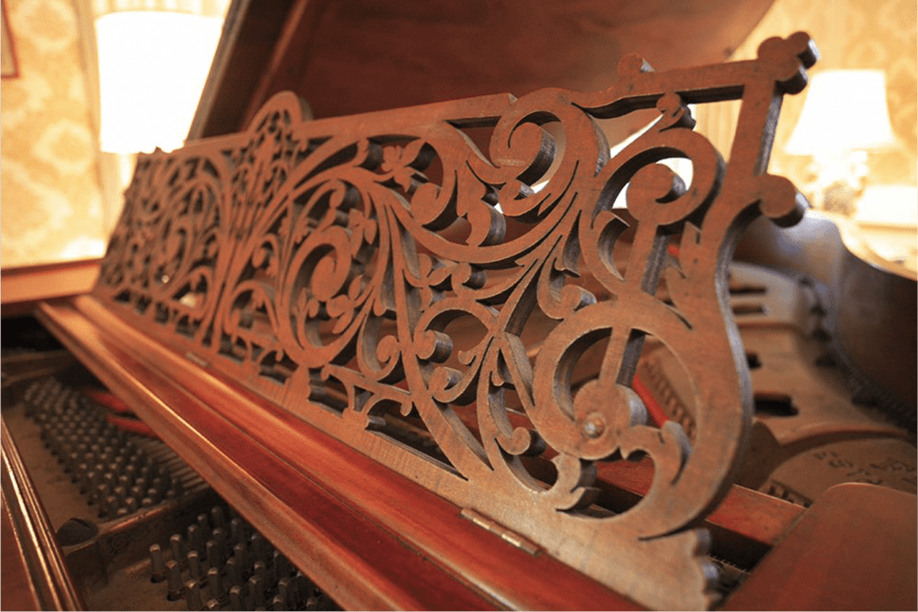 The piano of Queen Liliuokalani