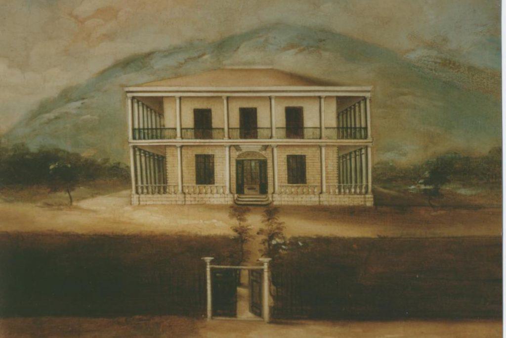Bishop Museum Oil Painting